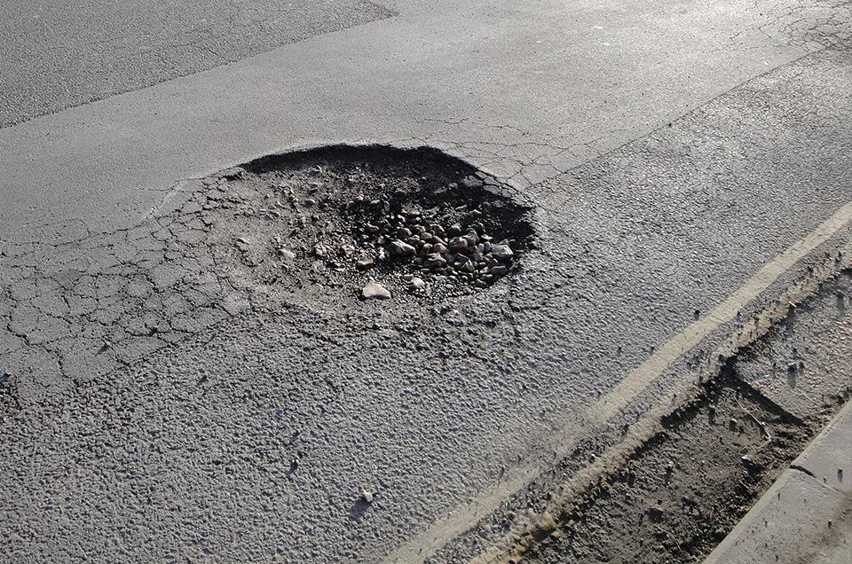£100m Pothole Investment