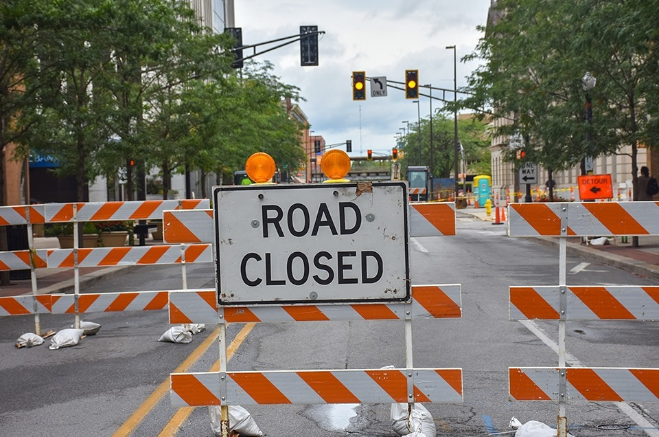 Road Restrictions – Warning Notice