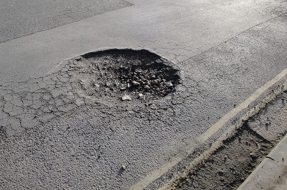 £100m Pothole Investment