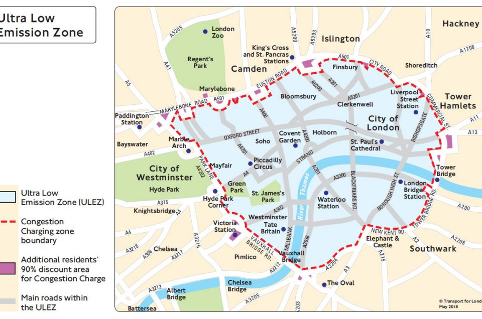 The Ultra-Low Emission Zone – How Will You Be Affected?
